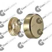 EMBELLECEDOR BRONCE PULIDO 14MM (5141)